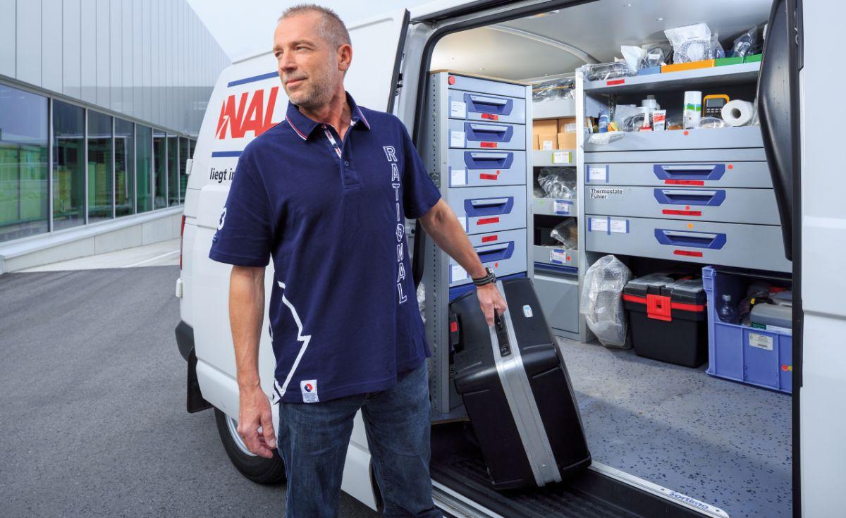 servicio técnico rational - camión y técnico