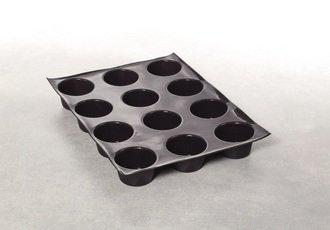 bandejas para hornos rational - molde para magdalenas