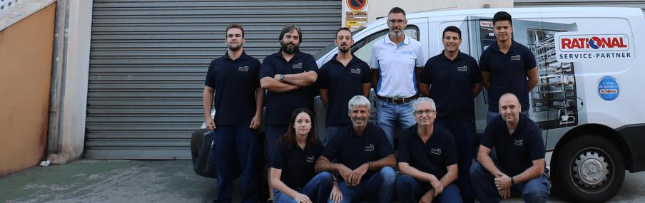 servicio técnico RATIONAL - equipo