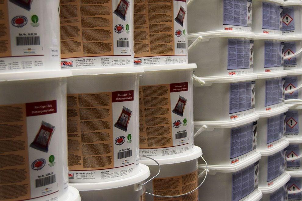 detergente para hornos rational - cajas