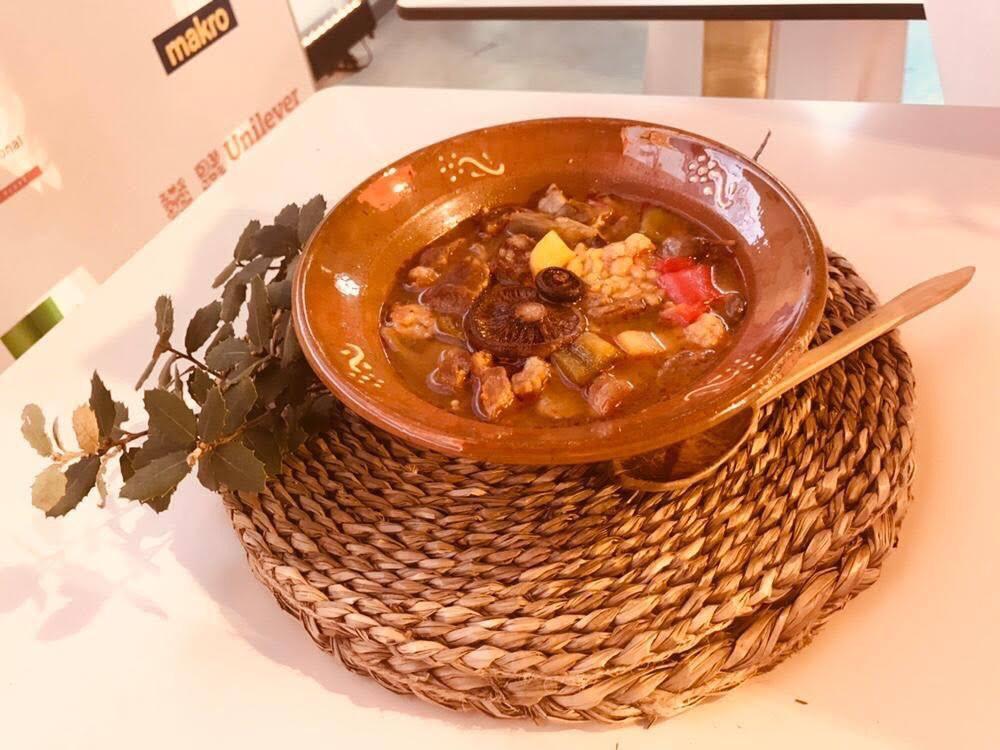 horno rational - arroz carbonero