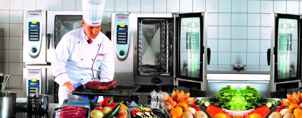 arreglar horno rational - cocina equipada