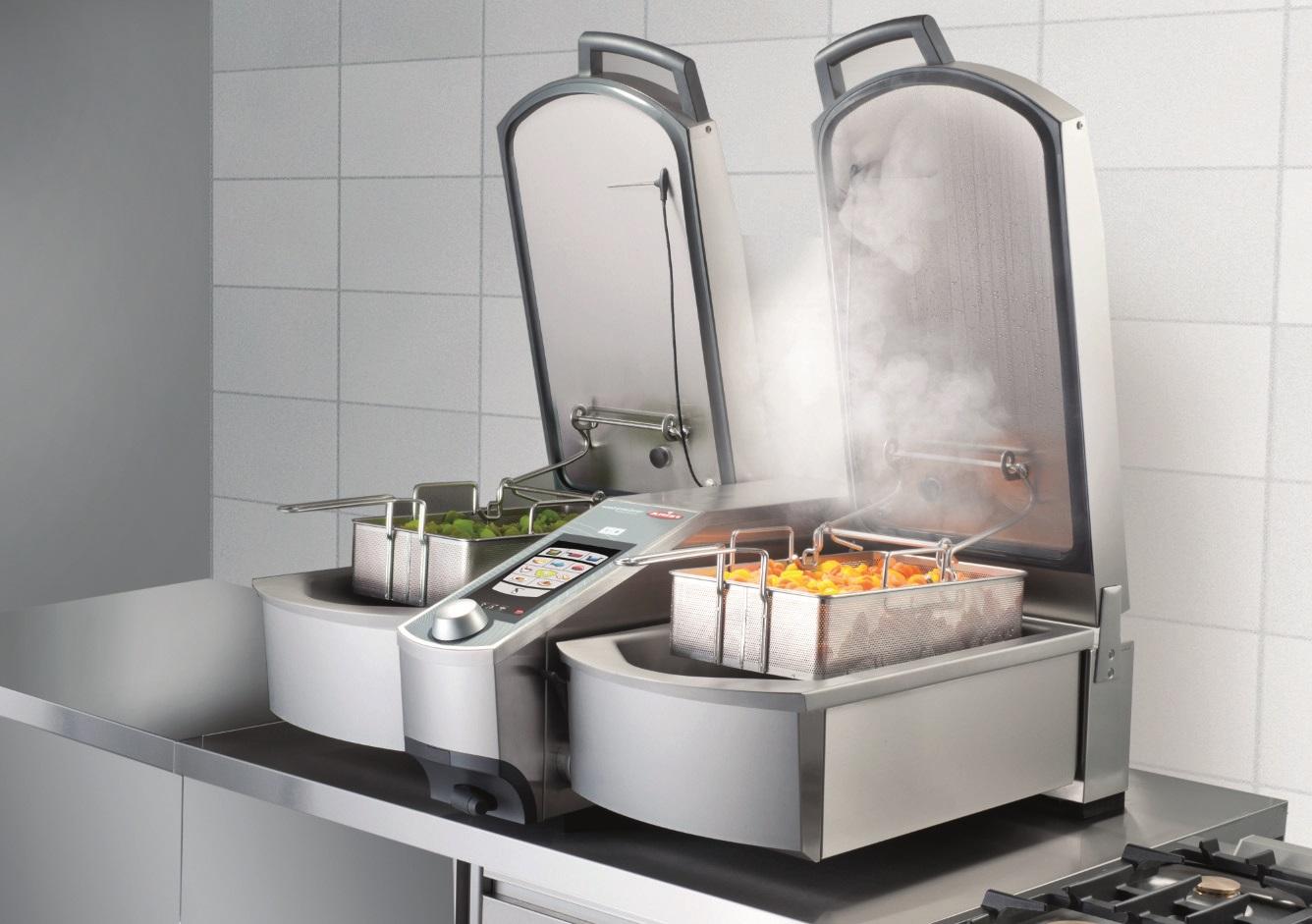 arreglar horno rational - horno en pleno funcionamiento
