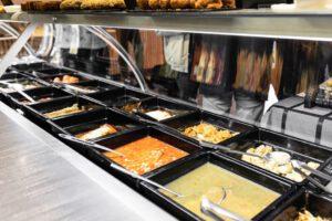 selfcookingcenter comida para llevar - estanteria