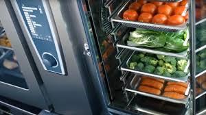 horno eléctrico Rational - verduras-